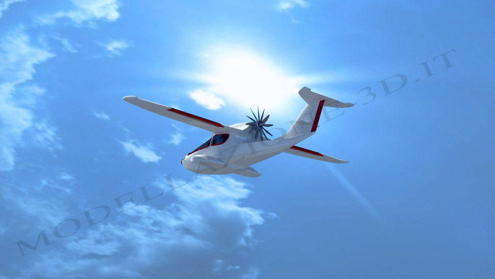 Aircraft fly
