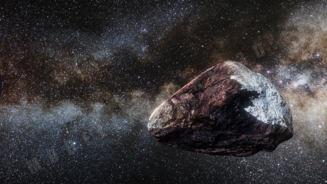 Asteroide 3D