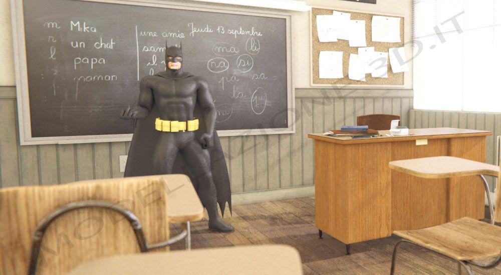 Batman 3D animazione