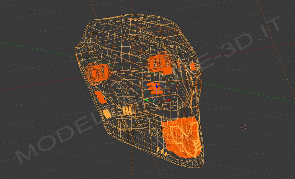 Character 3D for video games 2