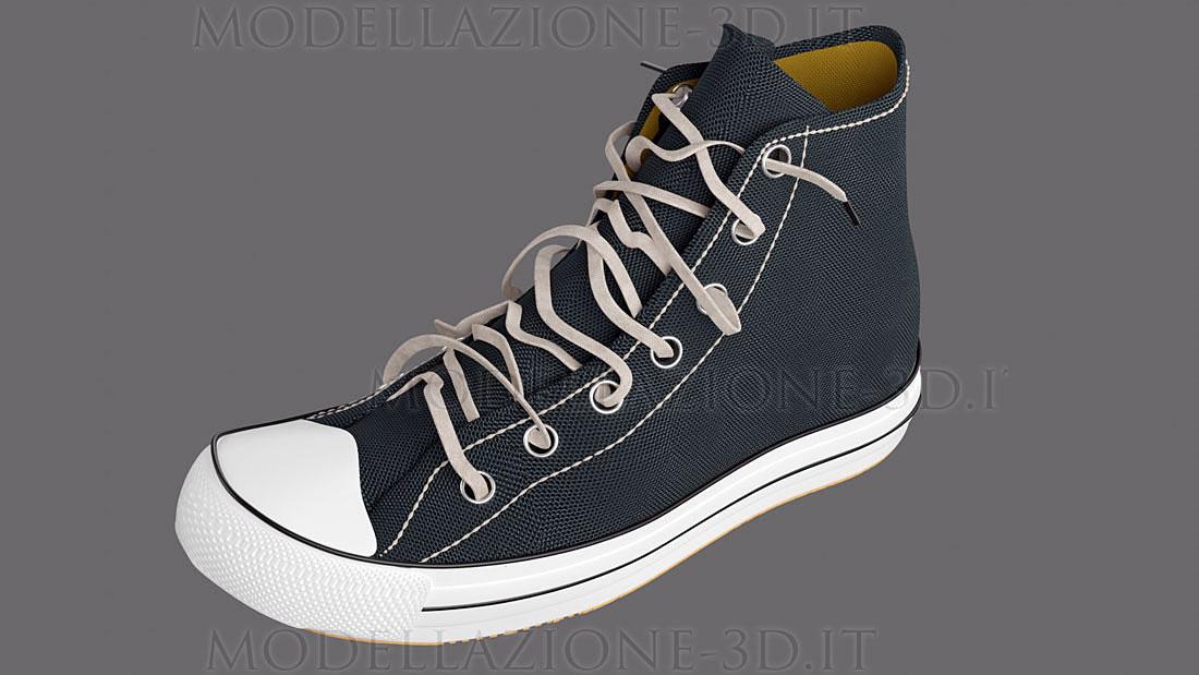 Converse All Star configuratore sneakers 3D