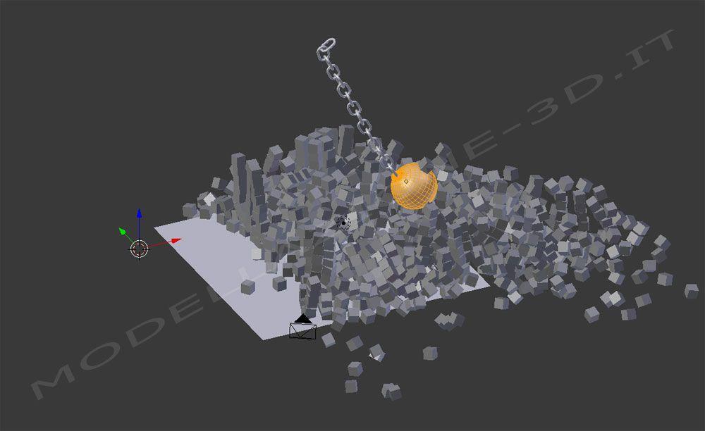 Simulazione impatto