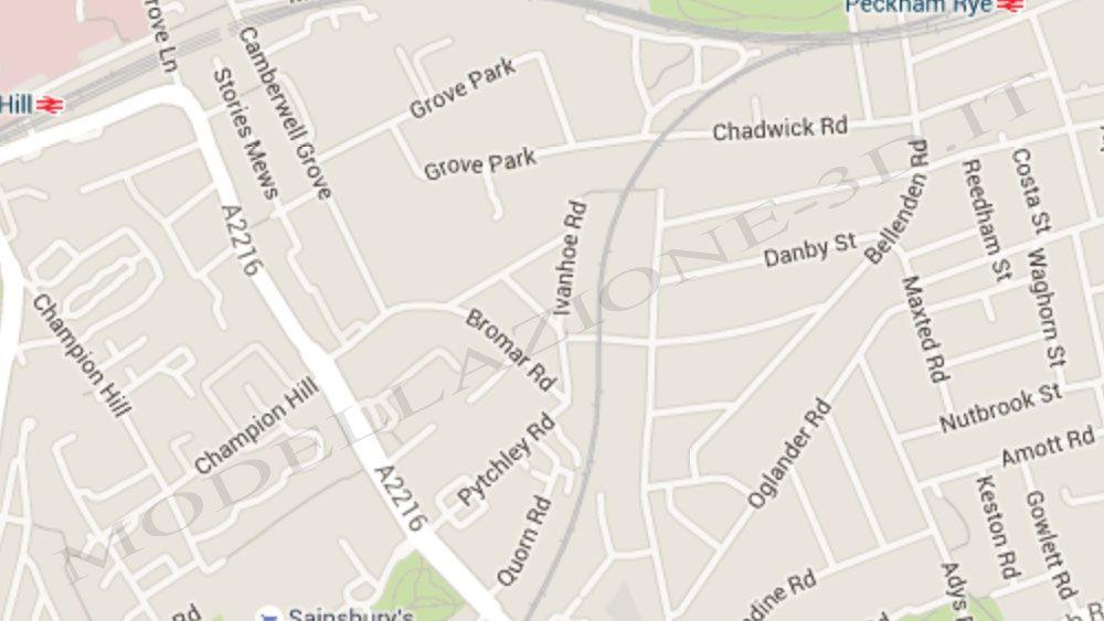 Città da Google Maps