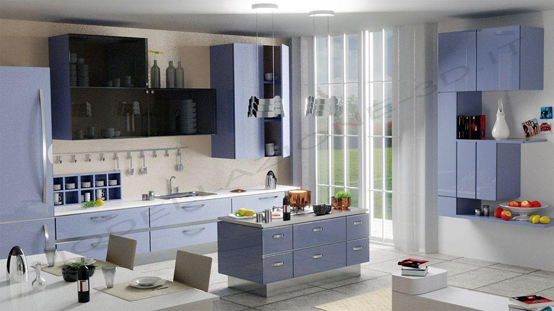 Cucina moderna 3D