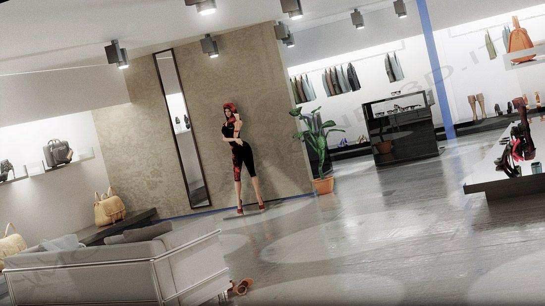 Showroom in stile moderno