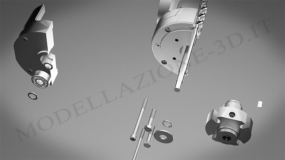Pompa Leistritz 3D