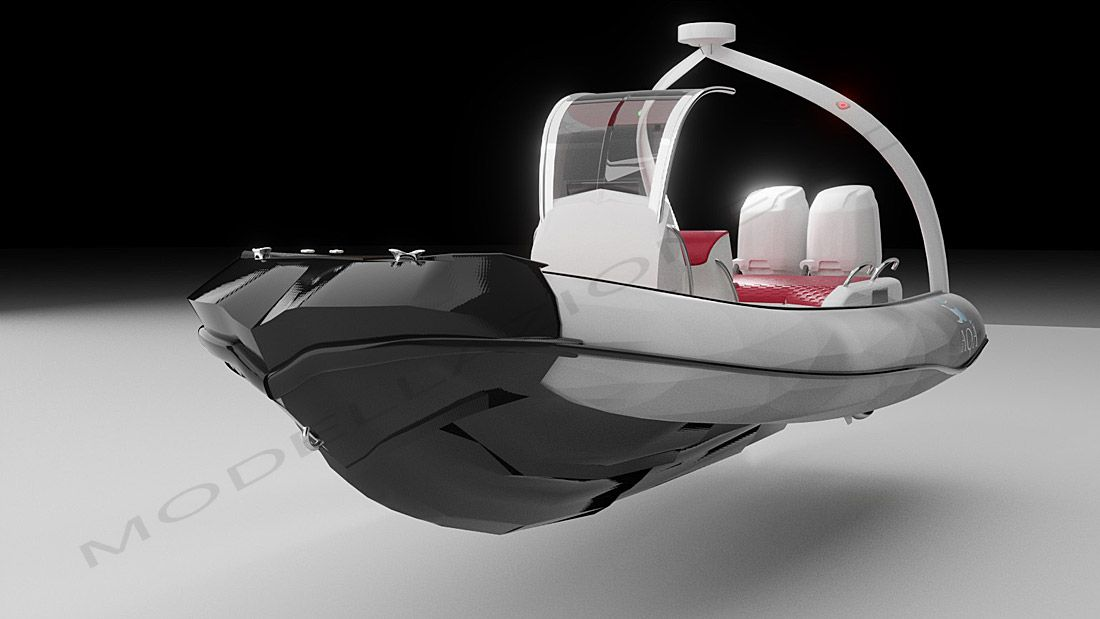 Concept gommone 3D