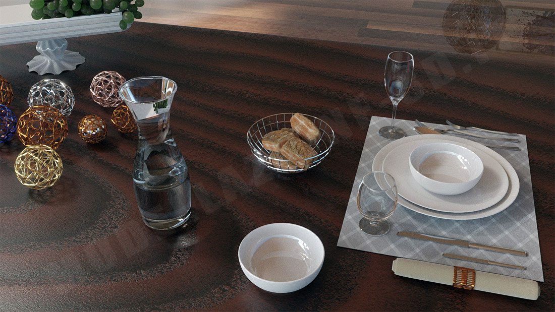 Sala da pranzo lusso minimal