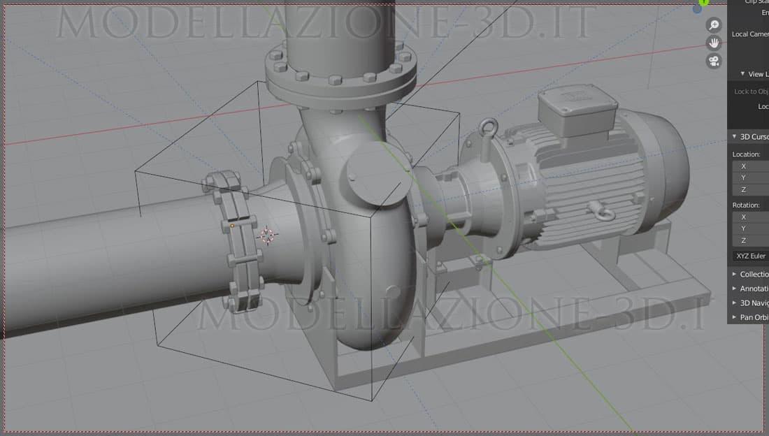 Pompa centrifuga a vite movimentazione delicata