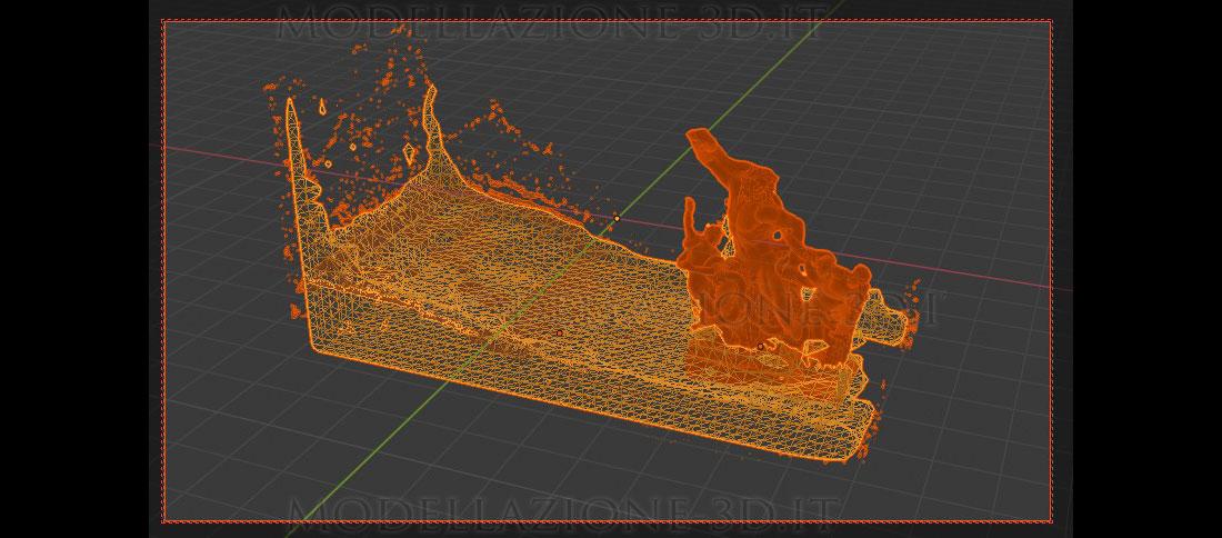 Simulazione fluidi Blender 2.82
