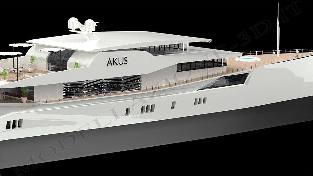 Yacht Akus 3D