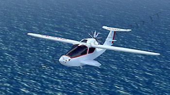 Aircraft fly 3D