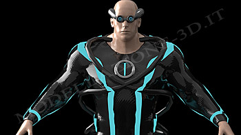 Character 3D for video games