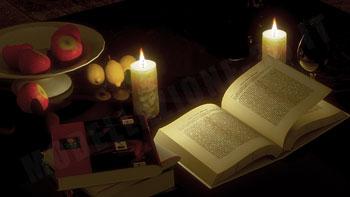 Composizione a lume di candela