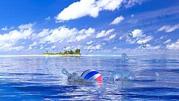 Palla in mare