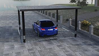 Garage interrato 3D