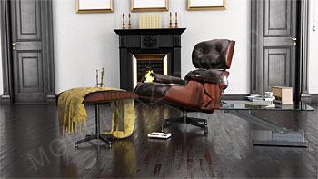 Poltrona Lounge Eames