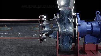 Pompa centrifuga monovite movimentazione delicata