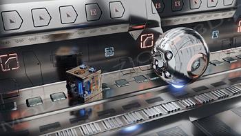 Ambientazione futuristica per videogames