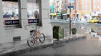 Ambientazione bicicletta antifurto Kriptonite