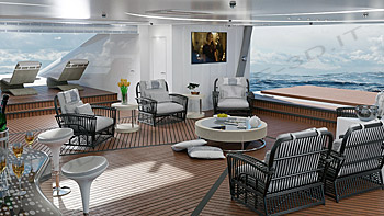 Allestimento interni yacht
