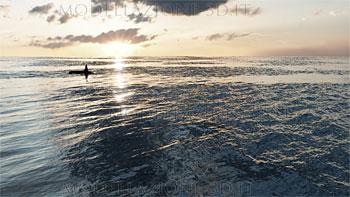 Simulazione oceano lungo raggio