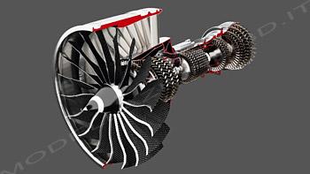 Turbofan General Electric per 747-8